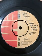 Marc Bolan And Gloria Jones - To Know Him Is To Love Him/ City Port