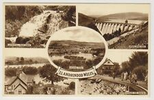 Wales postcard - Llandrindod Wells (Multiview showing 5 views)