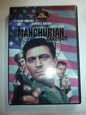 The Manchurian Candidate DVD classic thriller movie conspiracy Frank Sinatra