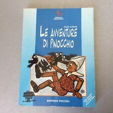 VINTAGE# LE AVVENTURE DI PINOCCHIO #EDITRICE PICCOLI  # NUOVO