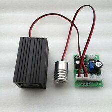532nm 50mw Green Laser + 650nm 200mW Red Laser Dot Module 12V w/Driver & TTL