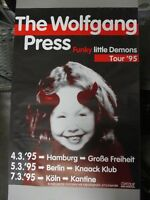 German Euro Rock Concert Poster The Wolfgang Press Funky Little Demons Tour 1995