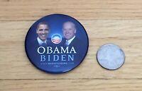 Barack Obama Joe Biden Official 2008 President Campaign Photo Button Pin