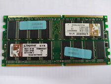 Memoria DDR Kingston KVR400X64C3A/512 512MB PC3200 400MHz CL3 184 Pin 2 Modulos