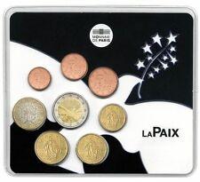 Stempelglanz Münzen aus Frankreich nach Euro-Einführung