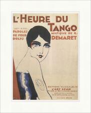 L HEURE TU Tango Tango heure RENE MAGRITTE 1925 Art pression plakatwelt 812