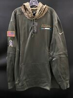MIAMI DOLPHINS SALUTE TO SERVICE NIKE TEAM ISSUED SWEATSHIRT NEW W/TAGS 4XL