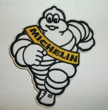 """MICHELIN Man Tires Car Truck Embroidered Patch~Iron Sew On~3 1/2"""" x 3""""~FREE Mail"""