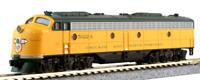Spur N - Kato Diesellok EMD E8A Chicago & North Western -- 176-5365 DCC  NEU