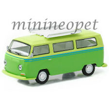 GREENLIGHT 29860 E 1969 VW VOLKSWAGEN T2 TYPE 2 with ROOF RACK 1/64 GREEN