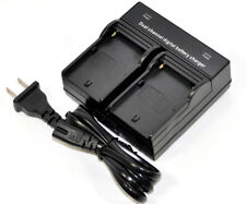 Dual Battery Charger For Canon BP-911 BP-914 BP-915 BP-927 BP-930 BP-945 BP-970