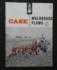 """1957 J. I. CASE """"SERIES C A M BE T MOLDBOARD PLOW"""" SALES CATALOG BROCHURE GOOD 1"""
