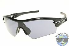 Oakley Radar Path Sunglasses 09-670 Polished Black w/ Grey Lens