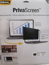 Fellowes PrivaScreen Blackout Privacy Filter - 19""