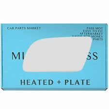 Left side Wing door mirror glass for Volvo 440 460 480 1987-1991 heated +plate