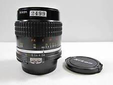 Nikon Nikon 55mm f2.8 Micro Nikkor AIS  Macro Lens Excellent + 9.5 Condition