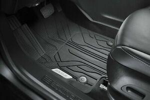 2018-2021 Chevrolet Equinox Premium All Weather Floor Liners 84639808 Black OEM