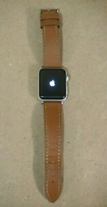 APPLE WATCH Series 3 Silver Aluminum 38mm Case, GPS, A1858, ACCOUNT LOCKED
