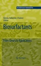 Biosurfactants : From Genes to Applications 20 (2010, Hardcover)