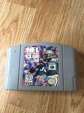 NFL Quarterback Club 98 (Nintendo 64, 1997) Game Cart Works NG1