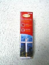 """6"""" Electric Candle Clear 3V bulb Cordless Battery Op"""