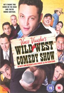 VINCE VAUGHNS WILD WEST COMEDY SHOW DVD [UK] NEW DVD