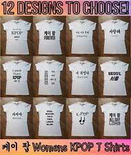KPOP Love Fan Selection Korean Printed T Shirt Top Tee Fashion K drama Womens