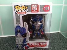Transformers RARE Optimus Prime #101 VAULTED Funko POP, AUTHENTIC Boxed Figure.
