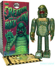 Creature from the Black Lagoon Tin Toy Windup Metal House Universal Monsters