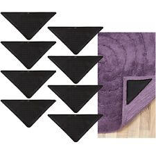 8 x Rug Grippers Mat Non-Slip Reusable Carpet Washable DIY Ruggies Self Adhesive