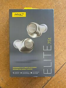 Jabra Elite 75t Earbuds – Active Noise Cancelling Bluetooth Headphones Earbuds