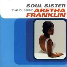 Aretha Franklin Soul Sister-The Classic CD My Guy/Misty/Walk On By/Unforgettable