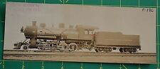 Train Locomotive Builders Card D.T. & I.R.R. 118 Photo Detroit Toledo Ironton