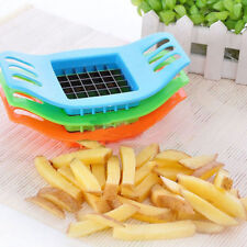 French Fry Potato Chip Cutter Slicer Chopper Chipper Dicer Fries Kitchen Tool