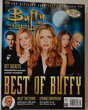 BUFFY LE VAMPIRE SLAYER YEARBOOK WINTER 2002 MAGAZINE MAGAZINE ( ZB 147 )