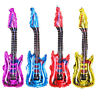 Inflatable Blow up Rock n Roll Flame Guitar Disco Fun Holiday Party Music Xmas;*