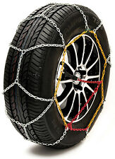 "Sumex Husky Winter Classic Alloy Steel Snow Chains for 18"" Car Wheel Tyres -PAIR"