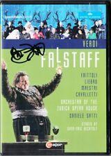 DVD Barbara FRITTOLI Signiert VERDI: FALSTAFF Abrogio Maestri Yvonne Naef Gatti