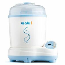 Wabi Baby Electric Steam Sterilizer and Dryer Plus, 3-in-1 Cleaner, Baby - 565