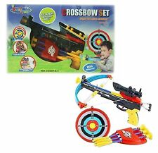 SUPER REAL CROSSBOW ARCHERY SET WITH INFRARED TARGET SCOPE CROSS BOW TOY