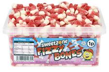 Sweet Zone Fizzy Bones Jelly Gum Sweets Halal Vegetarian Retro Gift Candy Gummy