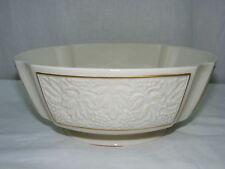 "Vintage China Lenox Center Table Serving 10"" Footed Bowl Grape Leaf Design New"