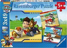 Puzzle Helden mit Fell 3x49 Puzzle, 3 x 49 Teile, Paw Patrol, Mit 3 Mini-Postern