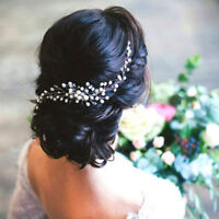 Bride Bridal Hair Comb Wedding Headwear Pearl Women Jewelry Hair Accessories