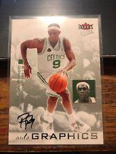 2007-08 Fleer Ultra Autographics #AU-RR Rajon Rondo Boston Celtics Auto Card