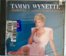 Tammy Wynette Anniversary: 20 Years of Hits CD 1987 First Lady Of Country Music