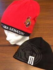 OTTAWA SENATORS LICENSED RED REVERSIBLE TOQUE NEW W/ TAGS  Free SHIP IN CANADA