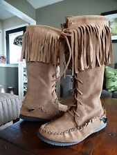 AUTHENTIC LAURENTIAN CHIEF DEER TAN LEATHER KNICKER BOOT 7