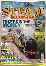 STEAM RAILWAY Magazine.  No 455 June/July 2016.  Swanage Mainline, Cromer, 0-6-0