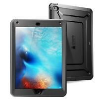iPad Mini 4 Case | Black Unicorn Beetle Supcase with Built-in SCREEN PROTECTOR